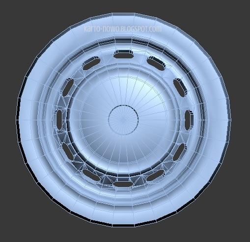 modelowanie 3ds max, fiat 125p, 3d model, model fiat 125p, 3ds max, image of fiat, kartonowo, 3d modeling, model kartonowy, papercraft,
