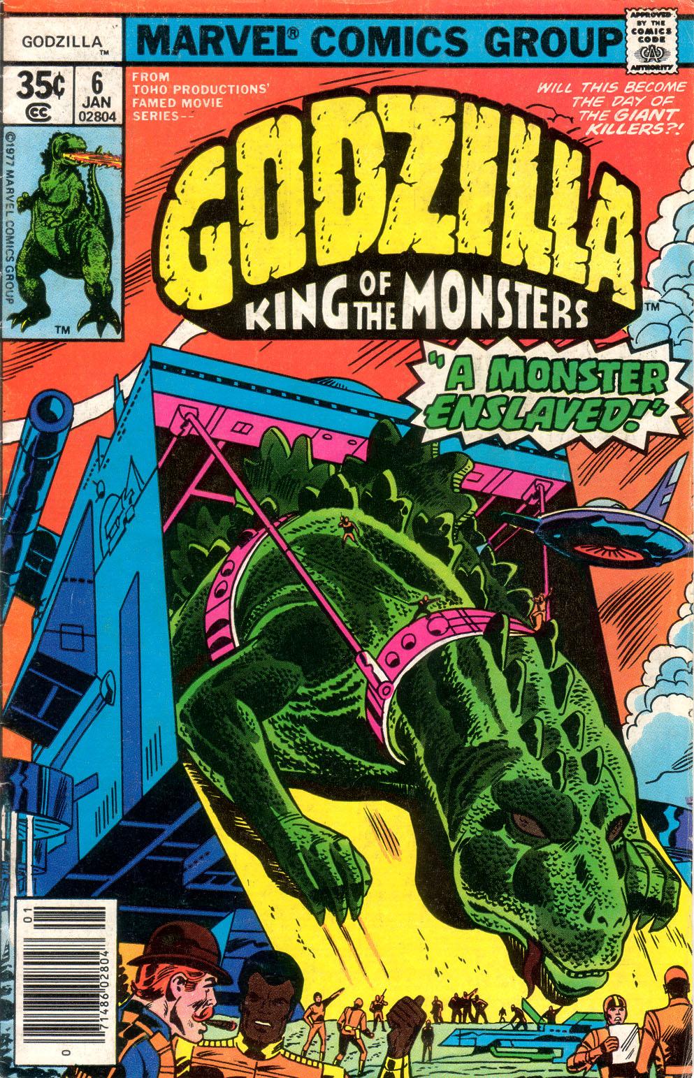 Starlogged Geek Media Again 1977 Godzilla The Marvel