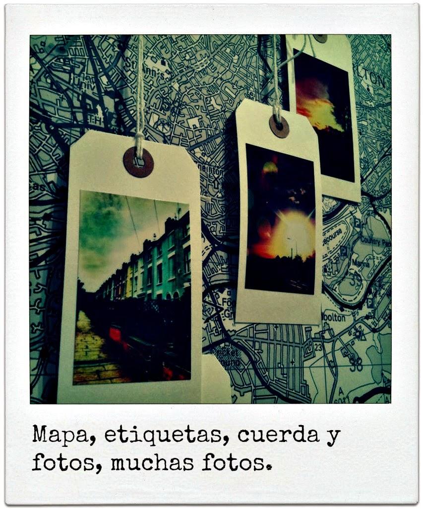 Memorias de un viaje ocho ideas para guardar recuerdos - Donde decorar fotos ...