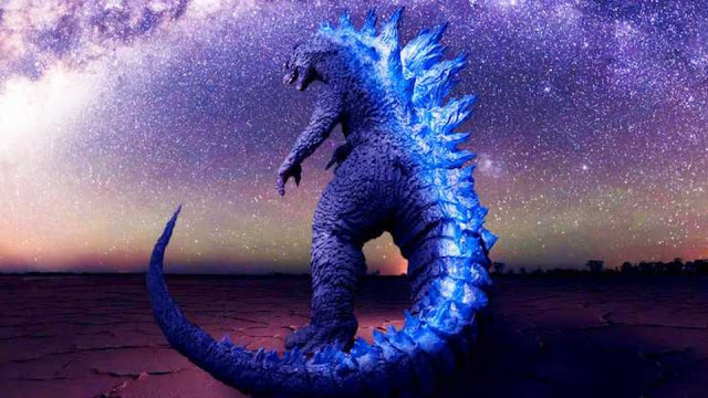 Godzilla has just been immortalized in the heavens above by NASA.