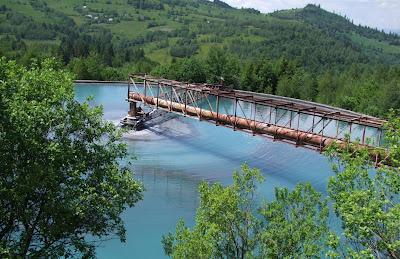 Erdély, zagyszennyezés, Aranyos folyó, Cupru Min, zagytározó, Szászavinc, Erdélyi-érchegység