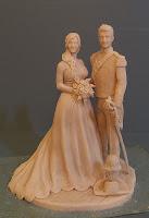 scultura ricordo matrimonio idea regalo san valentino coppia statuetta orme magiche