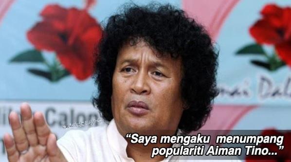 Penjelasan Herman Tino Akui Menumpang Populariti Aiman Tino Selepas Hafiz Suip