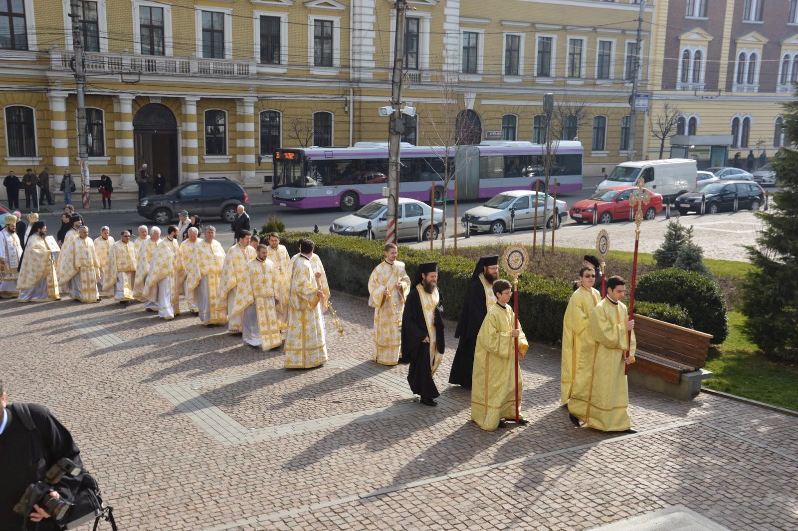 """""""Astăzi este începutul mântuirii noastre"""",  Buna-Vestire, Catedrala Mitropolitana, Cluj-Napoca"""
