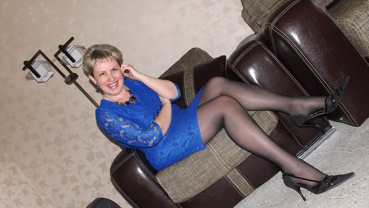 Mature in pantyhose mastrbate