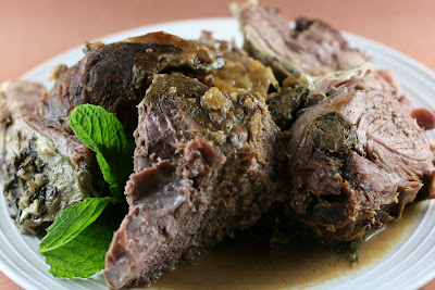 mint glazed lamb ingredients