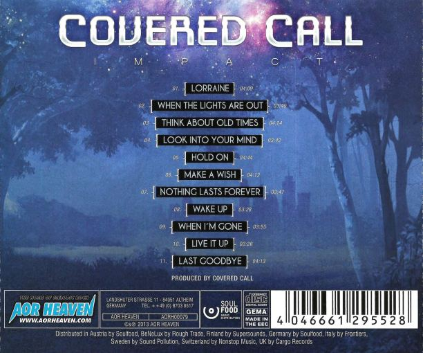 COVERED CALL (Goran Edman) - Impact [full retail] back
