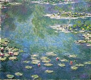 Клод Моне Водяные лилии