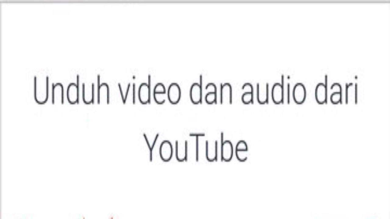 COM Cara Download Lagu dari YouTube ke Format MP Cara Download Lagu dari YouTube ke Format Mp3 Tanpa Ribet
