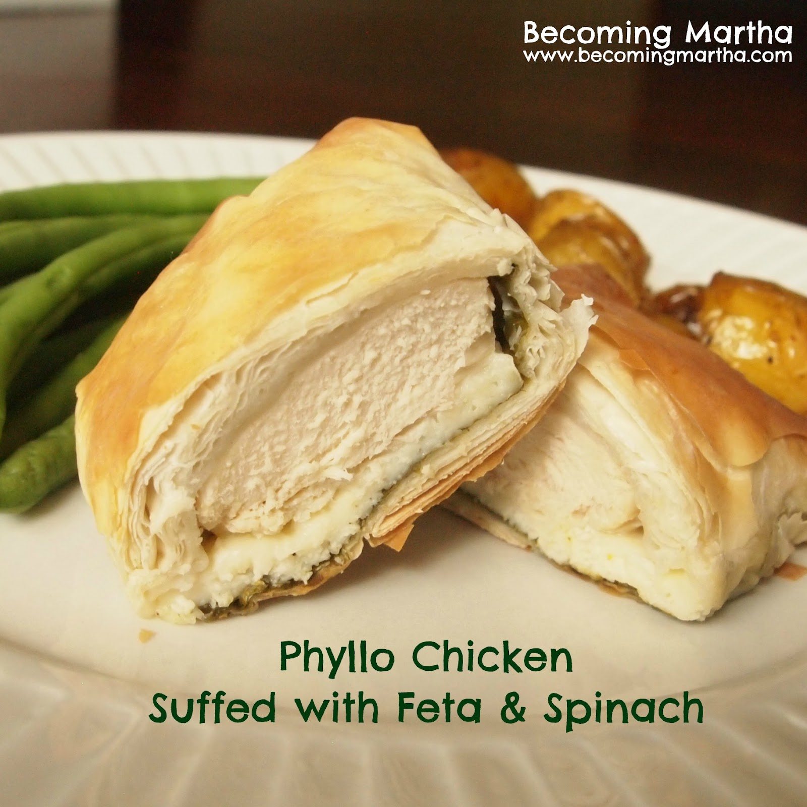 Remove 1 phyllo sheet from stack; fold in half lengthwise. Brush lightly with oil. Place 2 heaping tablespoons of the chicken mixture at the bottom of the folded phyllo, about 1 inch from the bottom. Fold bottom of phyllo over filling, fold in each side, roll wrap to the end of the phyllo sheet. Repeat with remaining phyllo sheets and chicken mixture/5(28).