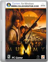 قرص لعبة المومياء the mummy للكمبيوتر