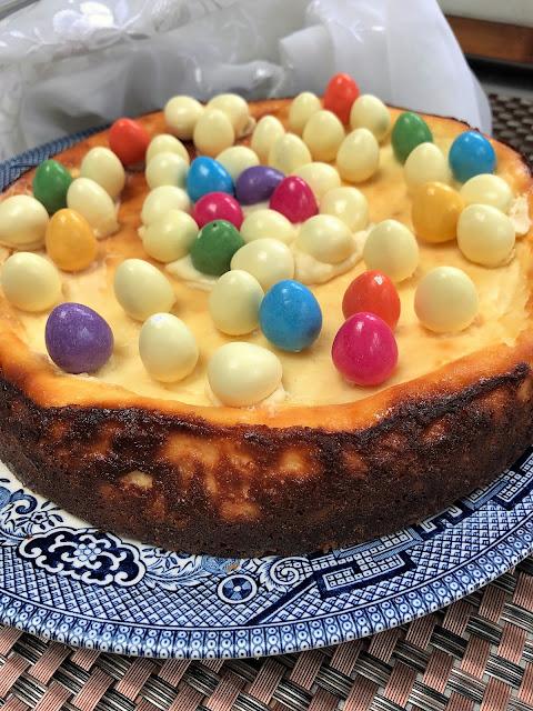 baked cheesecake, Easter dessert