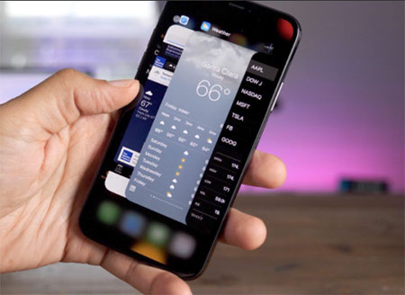 Menutup aplikasi yang sedang berjalan di iPhone