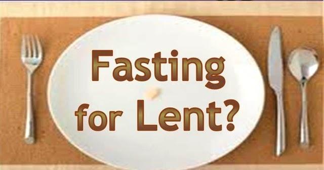 Image result for Lenten Fast