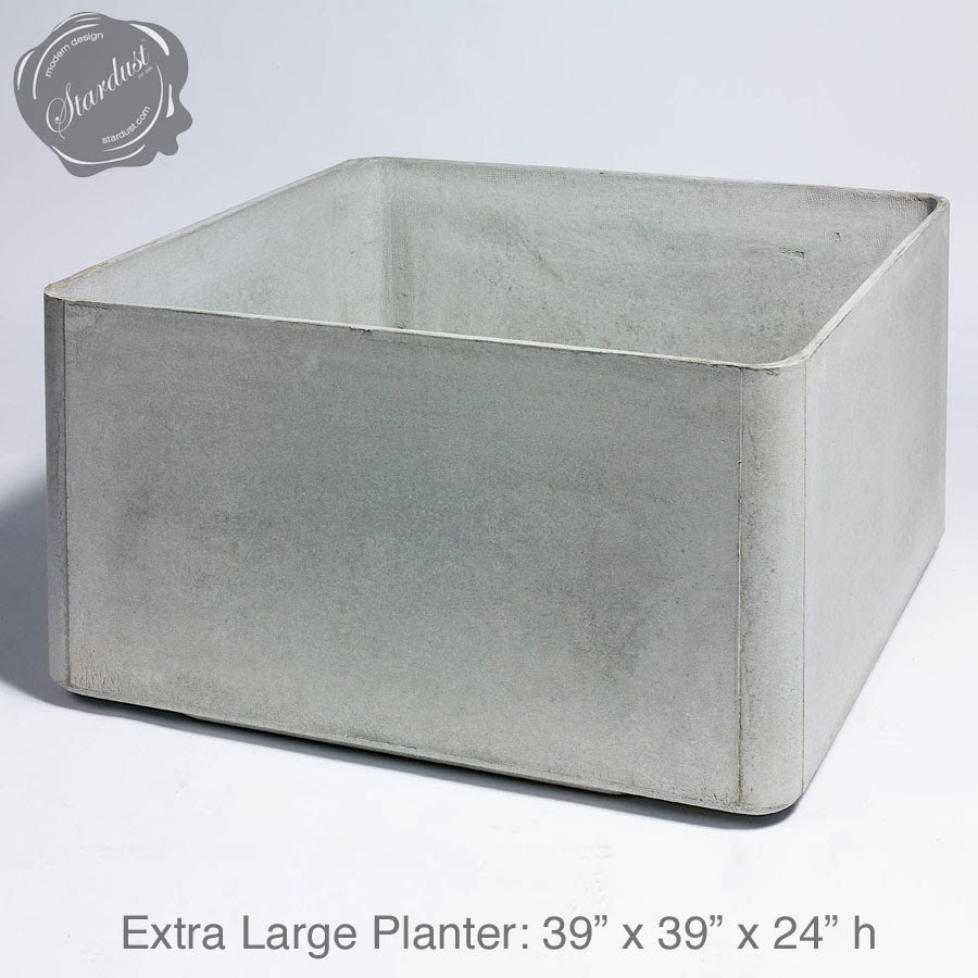 Large Square Outdoor Planter Pots Square Outdoor Planter