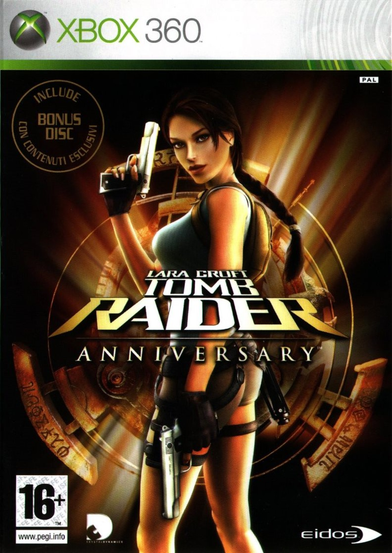 Videogames Tomb Raider Anniversary