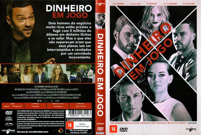 Capa DVD Dinheiro Em Jogo