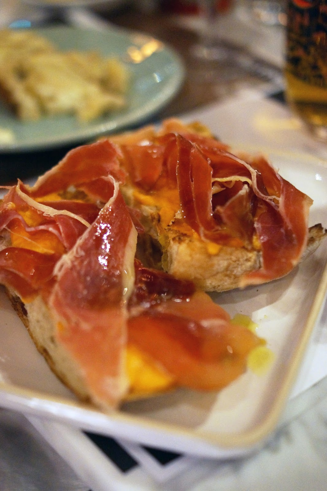 Hello Freckles Tapas Revolution Taste of Spain in Newcastle Food Review Eldon Square Estrella Galicia