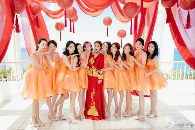 Ady An Wedding ladies