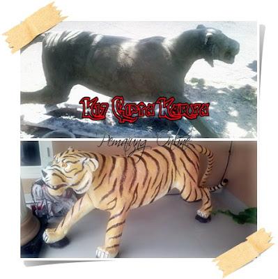 pembuat patung harimau