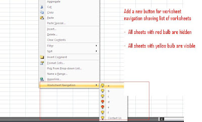 Add Worksheet Navigation button on mouse right click | ExcelExperts com