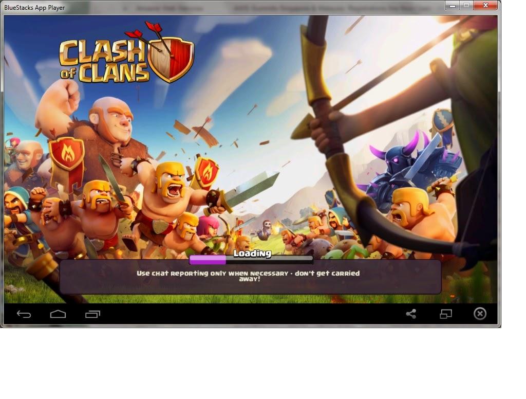 bluestack clash of clans gem hack