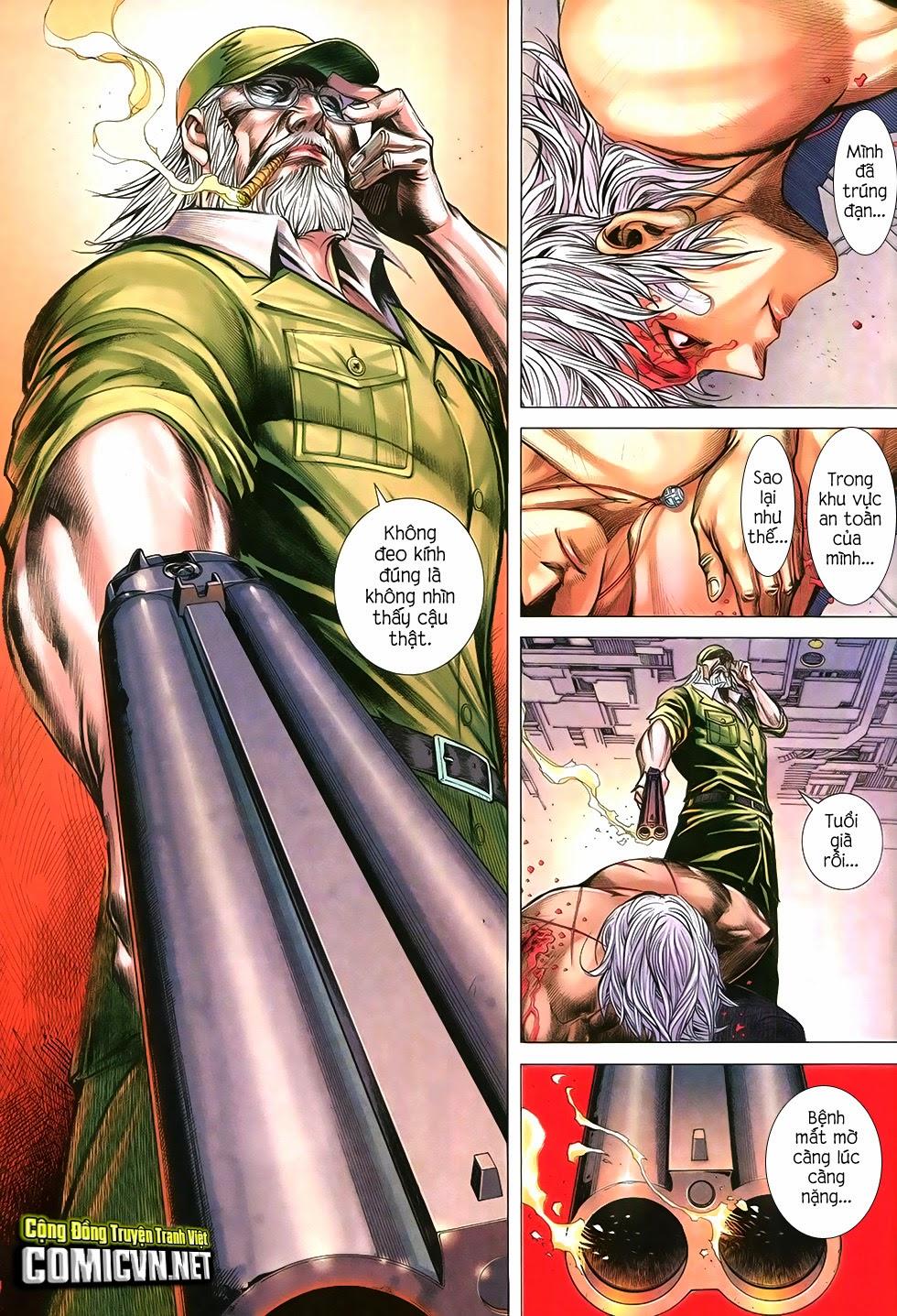 Đại Quân Phiệt chap 12 trang 31