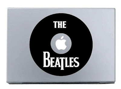 The Beatles Band MacBook Stickers