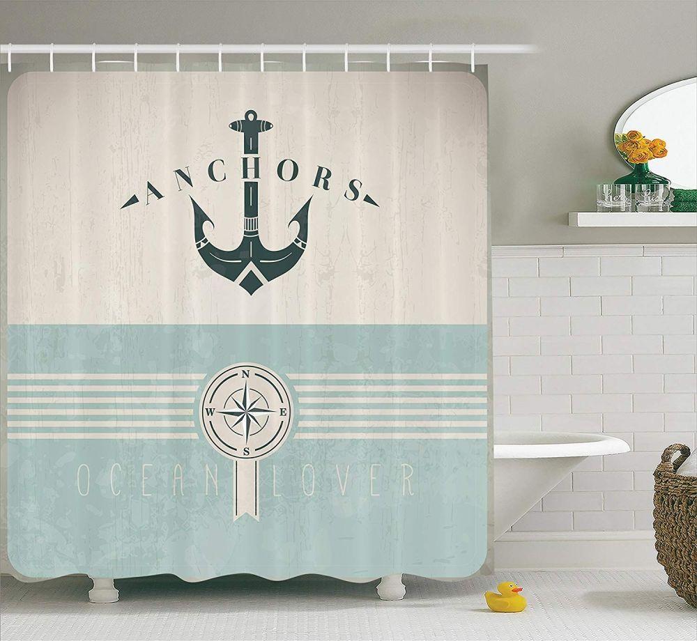 Ocean Decor Shower Curtain