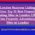 London Business Listing Sites: Top 50 Best Property Listing Sites in London UK | Free Property Advertising Sites in London