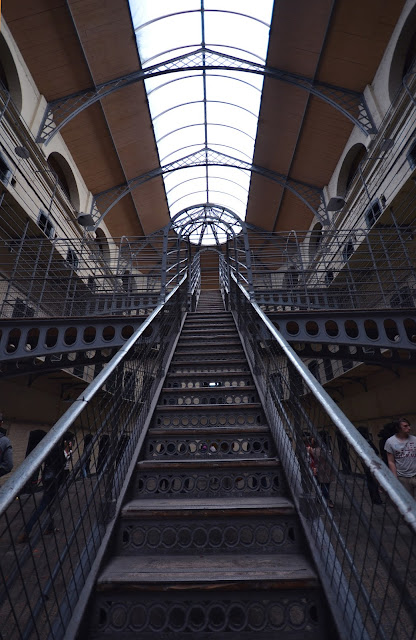 Kilmainham Gaol, prison, Ireland, Irish, irish history, independence, how to visit, where is Kilmainham gaol, how much is Kilmainham Gaol, Irish revolution, civil war, stone breakers yard, Dublin, main hall, history, Easter Rising,