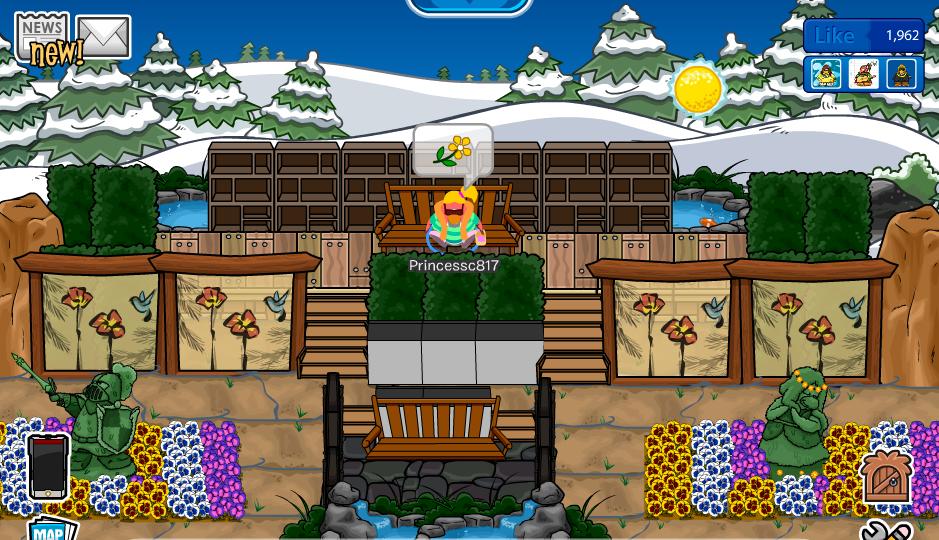 Club Penguin Igloo Ideas My Garden Igloo