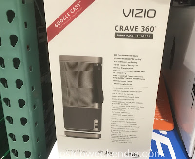 Costco 1111745 - Vizio Crave 360 Smartcast Speaker (SP-50) - great for taking the party on the go
