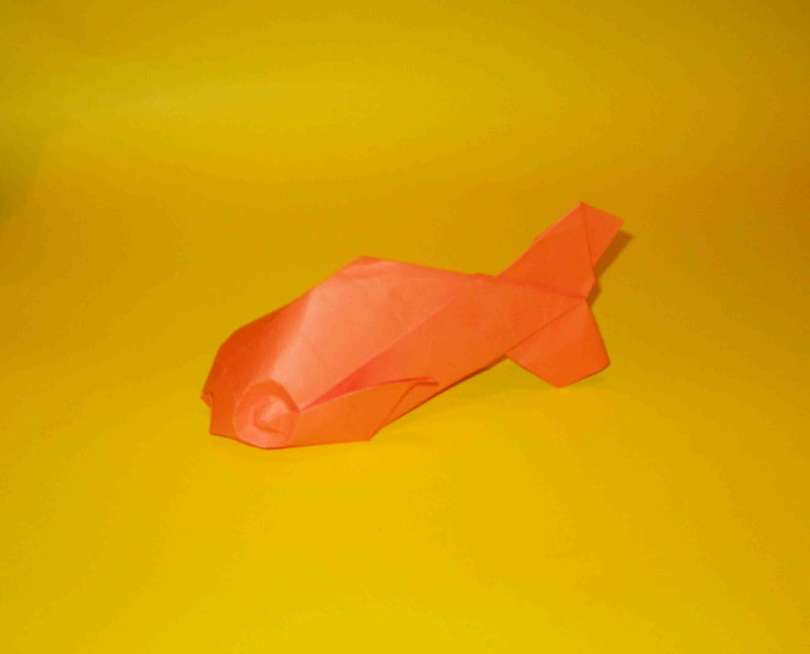 Origami Fish (Davor Vinko) ~ TOMODACHI-ART - photo#46