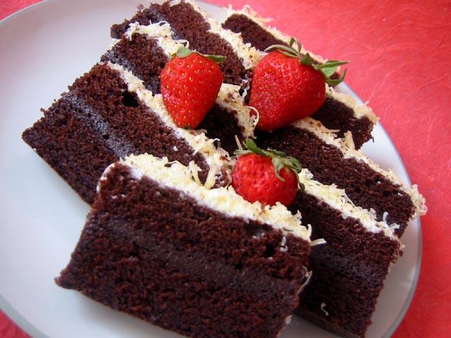 Resep Cake Kukus Modern: Resep Brownies Kukus Paling Enak