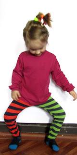 детская одежда леггинсы в полоску