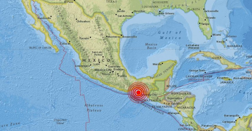 TEMBLOR EN MÉXICO: Fuerte Sismo de Magnitud 4.9 (Hoy Martes 06 Marzo 2018) Epicentro - Chiapas - Tanola - Paredón - USGS - SSN - www.ssn.unam.mx