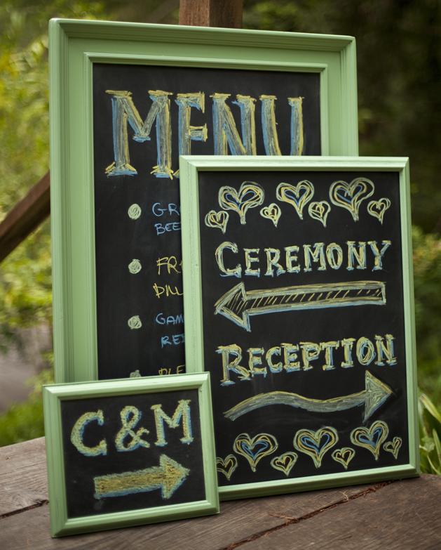 Wedding Chalkboard Ideas: { Ask Cynthia }: Wedding Inspirations