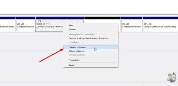 como eliminar una particion de disco duro en windows