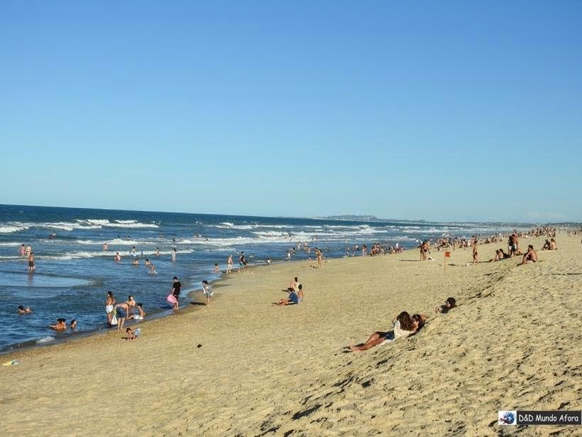Praia Porto das Dunas em frente ao Beach Park