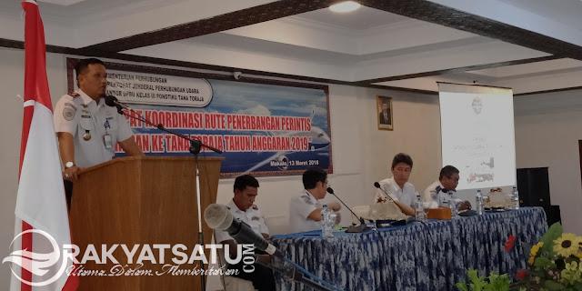 Lima Kepala Bandara Bahas Rute Bandara di Toraja