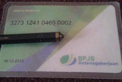 Kartu Peserta BPJS Ketenagakerjaan