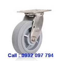 Bánh xe cao su, bánh xe inox, bánh xe xoay