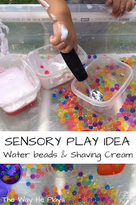 Sensory play idea