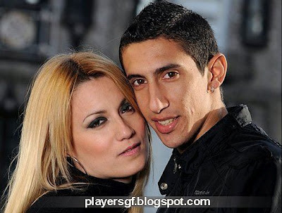 Di María and his Wife Jorgelina Cardosoon