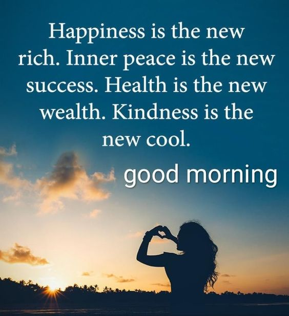 Pdbs Inspirational Quote For Today Happiness Is The New Rich