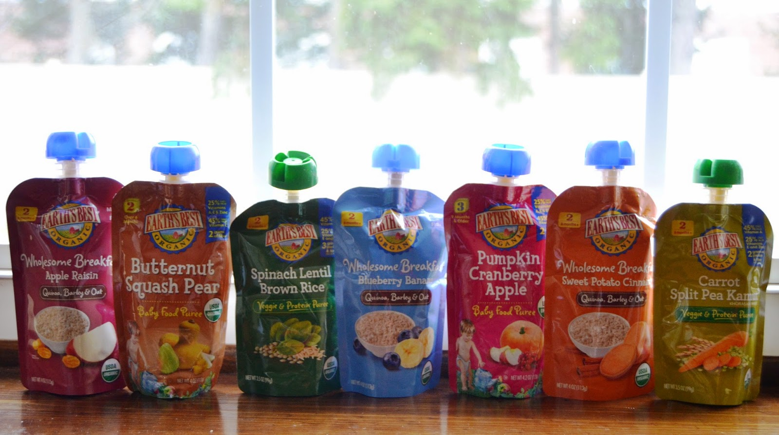 Earth's Best Organic Pouches