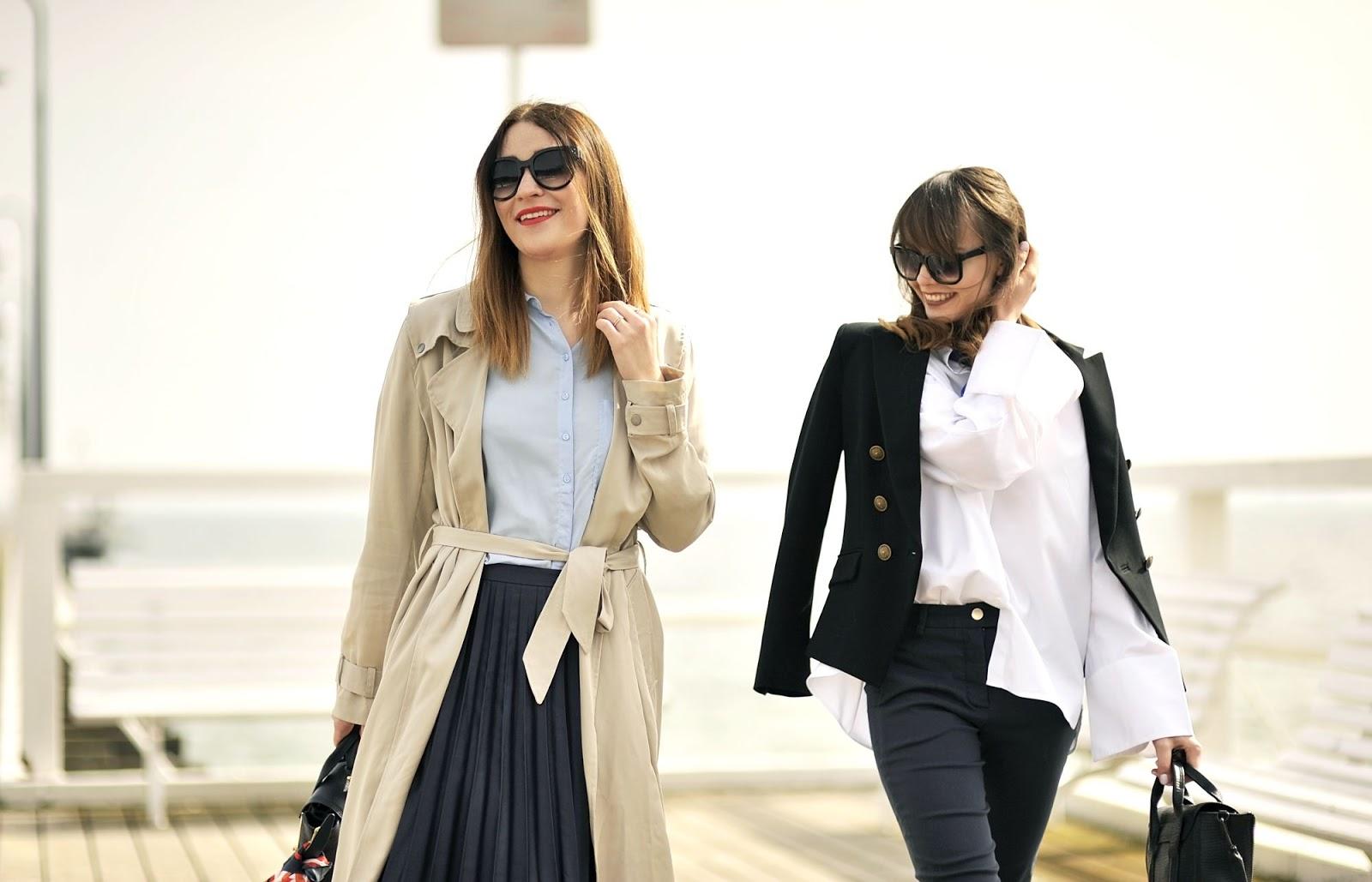 wspolna sesja dwoch blogerek | cammy i shinysyl | minimalizm