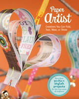 book cover of Paper Artist by Green, Laughlin & Phillips published by Capstone Young Readers