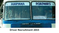 HR Road Ways Driver Recruitment 2015-16